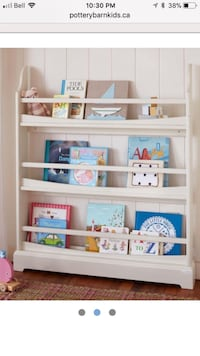 Used Pottery Barn Madison book shelf.  Retail $249.  Selling for $100 obo. Toronto, M6S 3R4