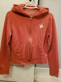 orange zip-up hoodie Calgary, T2W 1C8