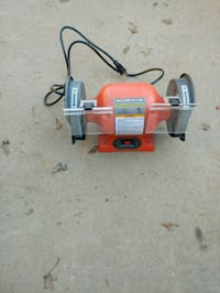 red and gray miter saw 325 mi