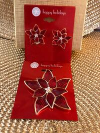 Poinsettia Jewelry Set Westminster, 21157