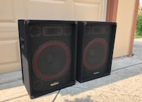 RadioShack large speakers (2ft tall approx) Livermore, 94551