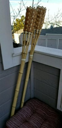 Two Bamboo Tiki Torches Lakewood, 80227