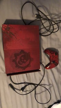 Red Xbox One S 2tb console with controller Somerset, 08873