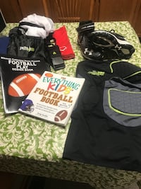 Football package All either brand new or like new Cumberland, 21502