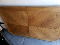 rectangular brown wooden coffee table Toronto, M4M 2Y5