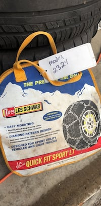 tire  chains 2324 Sherwood, 97140