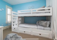 Staircase Bunk Bed (Twin) with drawers Toronto, M4T 2B2