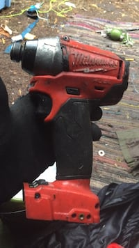 red and black Milwaukee cordless power drill Vancouver, V5K