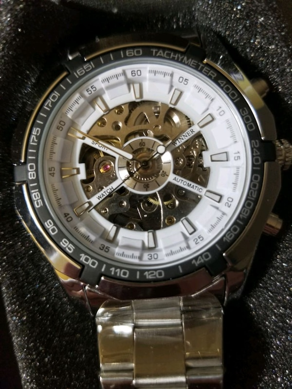 skeleton watch  new never worn original $2700