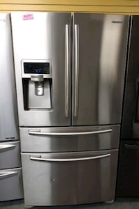 "Samsung 36""wide French doors stainless steel refrigerator Randallstown, 21133"