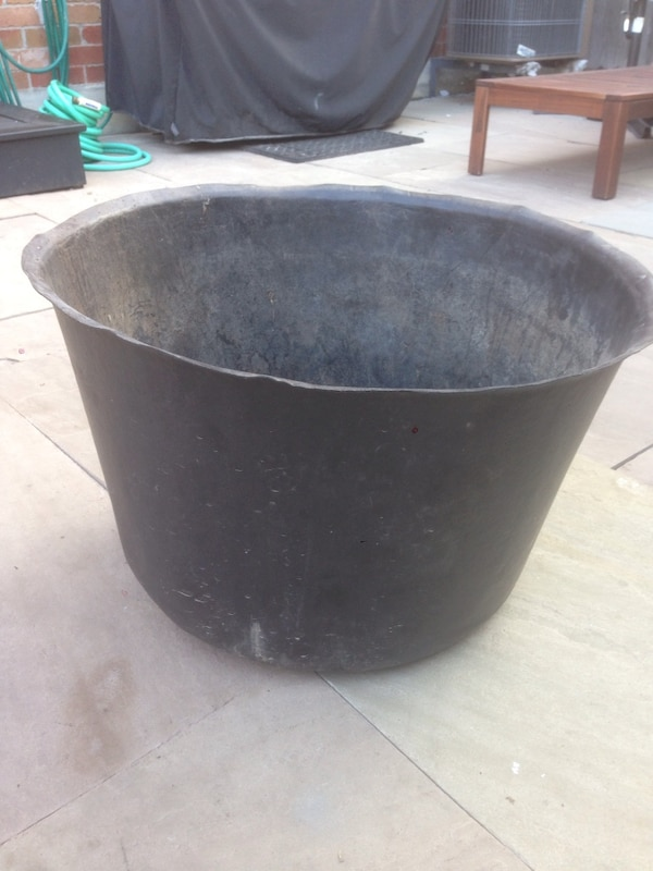 Half Whisky Barrel Pond Liner Great For A City Pond Water Feature