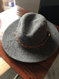 black and brown fedora hat Vancouver, V5T 2L8
