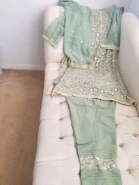 Pakistani kurta n trouser suit.