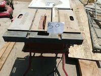 black and gray table saw Perris, 92570