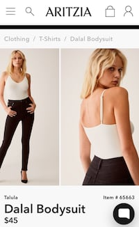 ARITZIA BODYSUIT (negotiable) Surrey, V3R 4H9