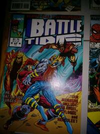 Marvel Comics Battle Tide comic book 285 mi