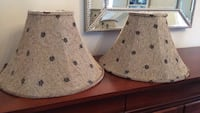 Two lampshades Pickering, L1V 6S9