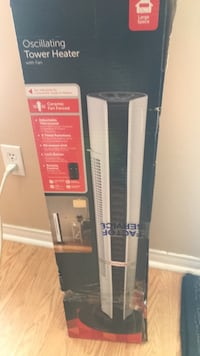 Oscillating tower heater  Mississauga, L5M 7P2