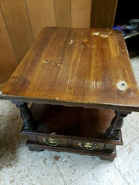 Wood end table  Pittsford, 14534