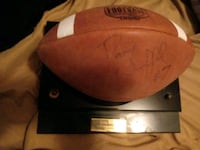 Signed football Iron Station, 28080