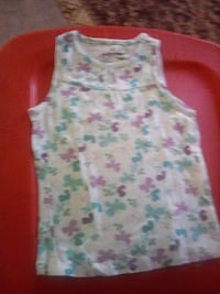 white and pink floral tank top West Reading, 19611