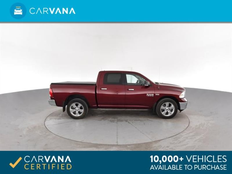 2016 Ram 1500 Crew Cab pickup Big Horn Pickup 4D 5 1/2 ft Red <br 9