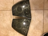 pair of car headlights 53 km