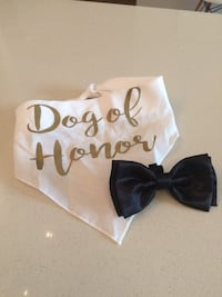 Dog of Honor Bandana and Bowtie Silver Spring, 20910