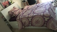 pink and white floral bed comforter Fairfax, 22031