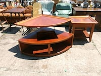 red and black wooden table Wichita, 67216