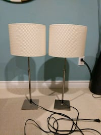 2 Table Lamps  Mississauga, L5M 7T7
