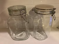 Glass Jars with Clamp Lids  Annandale, 22003