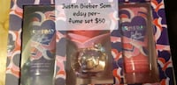 Justin  Bieber someday perfume set