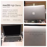 Apple Macbook air i5 Mevlana Mahallesi, 38090