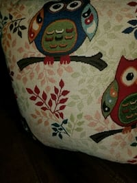 Set of 2 Owl Throw Pillows Omaha
