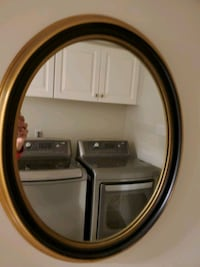 As new Antique Oval mirror with black border Richmond Hill, L4B 2Z5