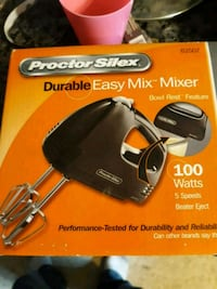 Brand new never used or opened mixer Metairie, 70002