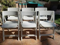 6 folding/stacking party chairs Henderson, 89074