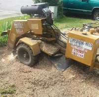 Free mulch from stumps that l grind