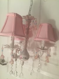 Crystal chandelier for baby or girl's room Reston