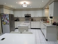 Kitchen cabinets with newly upgraded Granite counter top and appliances