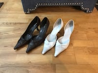 Womens leather heels size 9 and 10 Burbank, 60459