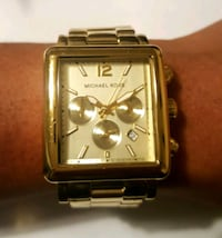 Michael Kors MK-5351 Gold Square Face Ladies Watch Greenville, 27834