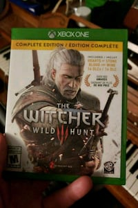 Xbox One The Witcher Wild Hunt game case Windsor, N8T 2W1