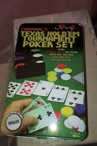 Texas Hold'em Tournament Poker Set Goffstown, 03045