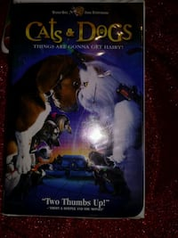 Cats & Dogs vhs movie Morro Bay, 93442