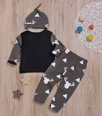 Baby boy outfit 3 pieces size 6-12,12-18 months  Los Angeles, 91406