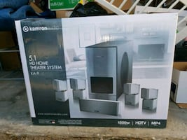 Surround Sound Speakers- 9 Speakers + Sub Woofer