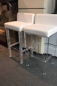 Two barstools ultra modern $50each