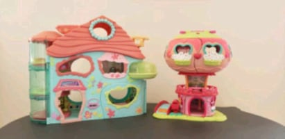 Dollhouses for Littlest Pet Shop, Hatchimals or other small dolls.
